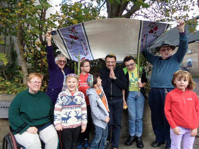 First Succot in Hexham and Durham